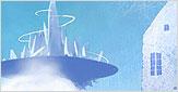 구름속수정도시